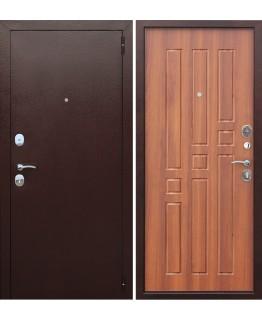 Дверь металлическая Гарда Рустикальный дуб 8 мм