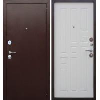 Дверь металлическая Гарда Белый ясень 8 мм