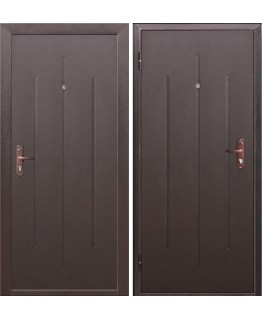Дверь СтройГост-5-1 Металл/Металл Внутреннее открывание