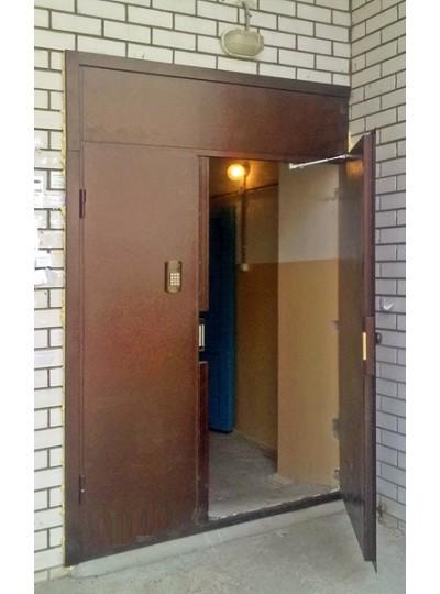 Дверь металлическая подъездная