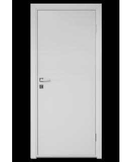 Дверь пластиковая VP-1 гладкая белая влагостойкая