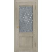 Дверь ЛУ-52 дуб серый
