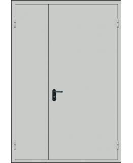 ДПМ-2 Дверь противопожарная металлическая двустворчатая EI-60 мин.