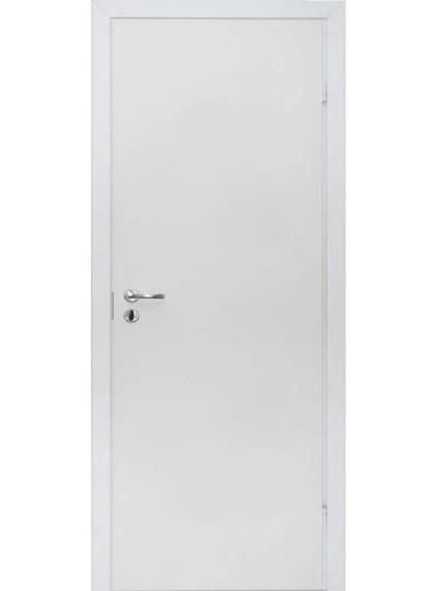 Дверь Olovi белая крашенная без притвора гладкая