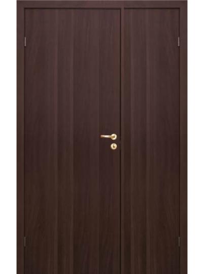 Дверь Olovi распашная венге без притвора гладкая
