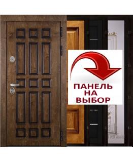 Дверь БАЗИЛИКА WF входная корабельный шпон