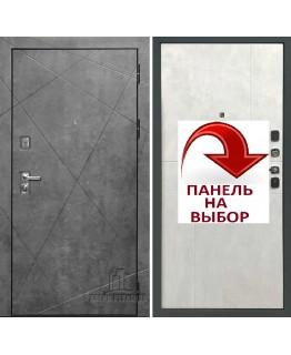 Дверь ПРОГРЕСС Тёмный бетон