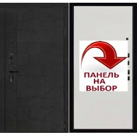 Дверь Quadro бетон графит темный