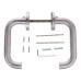 Дверная ручка H-0203-INOX (нержавеющая сталь)