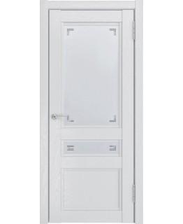 Дверь LUXOR К-2 ДО Белый снег