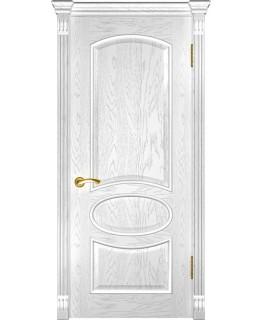 Дверь LUXOR Грация (ДГ дуб белая эмаль)