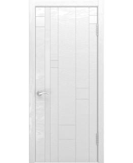 Дверь LUXOR Арт-1 (ясень белая эмаль)
