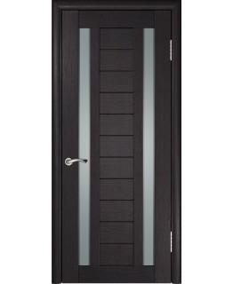 Дверь ЛУ-28 (Венге) Стекло матовое