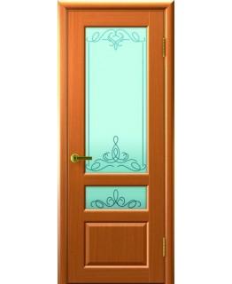 Дверь LUXOR ВАЛЕНТИЯ 2 (Светлый Анегри Т34, стекло)