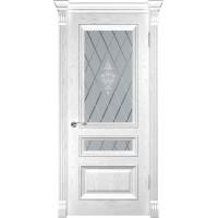 Дверь LUXOR Фараон-2 (ДО Дуб белая эмаль)