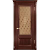 Дверь Фараон-1 (ДО красное дерево)