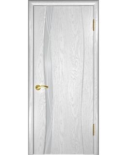 Дверь LUXOR Аква-1 (дуб белая эмаль)