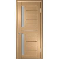 Дверь ЛУ-27 (Орех) Стекло матовое