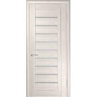 Дверь ЛУ-25 (Капучино) Стекло матовое