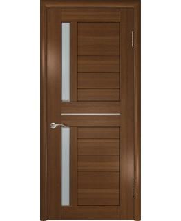 Дверь LUXOR ЛУ-27 (Темный орех) Стекло матовое