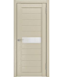 Дверь LUXOR LH-1 капучино со стеклом