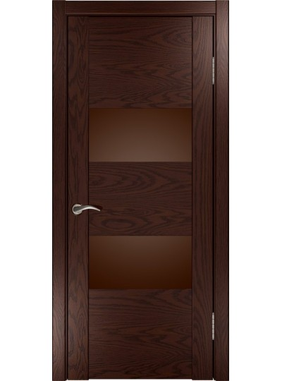 Дверь Орион-2 (мореный дуб)
