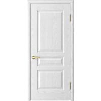 Дверь Атлант-2 (ясень белая эмаль дг)