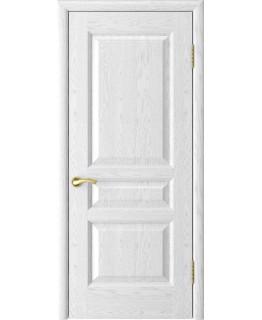 Дверь LUXOR Атлант-2 (ясень белая эмаль дг)