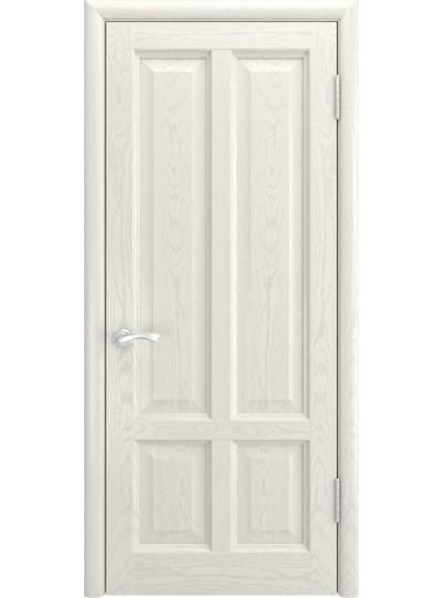 Дверь ТИТАН-3 (Дуб RAL 9010, глухая)