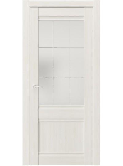 Дверь LUXOR QS-2 Альба со стеклом