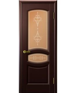 Дверь LUXOR АНАСТАСИЯ (Венге, стекло)