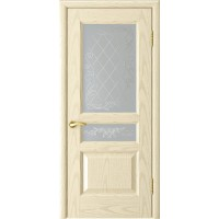 Дверь LUXOR Атлант-2 (ясень слоновая кость до)