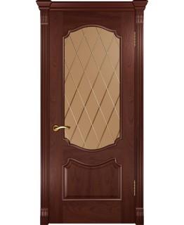 Дверь LUXOR Венеция (ДО красное дерево)