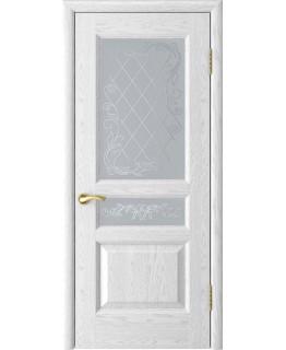 Дверь LUXOR Атлант-2 (ясень белая эмаль до)