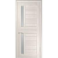 Дверь LUXOR ЛУ-27 (Капучино) Стекло матовое