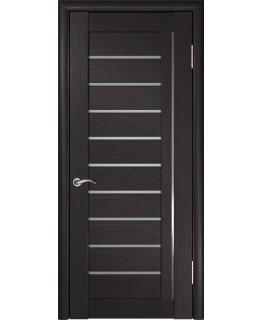 Дверь ЛУ-25 (Венге) Стекло матовое