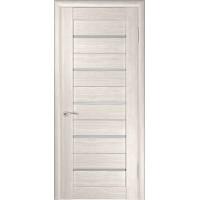 Дверь ЛУ-22 (Капучино) с матовым стеклом