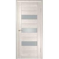 Дверь ЛУ-23 (Капучино) Стекло матовое