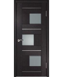 Дверь LUXOR ЛУ-11 Венге Стекло матовое