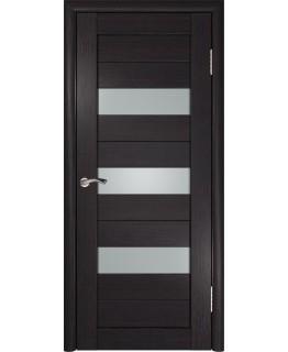 Дверь ЛУ-23 (Венге) Стекло матовое