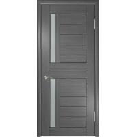 Дверь ЛУ-27 (Серая) Стекло матовое