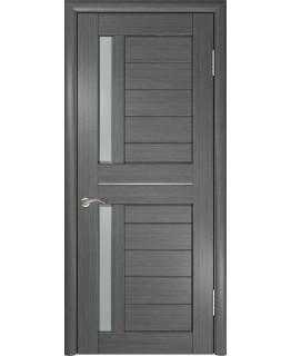Дверь LUXOR ЛУ-27 (Серая) Стекло матовое