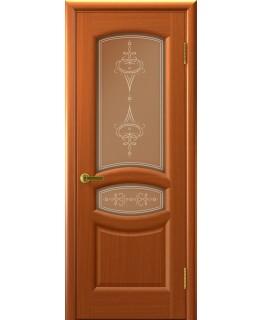 Дверь LUXOR АНАСТАСИЯ (Темный Анегри Т74, стекло)