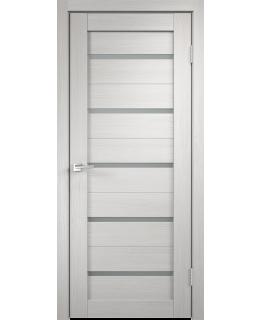 Дверь VellDoris  экошпон Duplex 1 дуб белый, стекло мателюкс