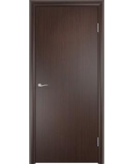 Дверь гладкая влагостойкая Аква дуб венге