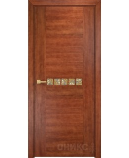 Дверь Оникс Акцент анегри темный, глухая