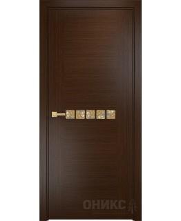 Дверь Оникс Акцент венге, глухая