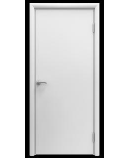 Дверь гладкая влагостойкая Аква белая