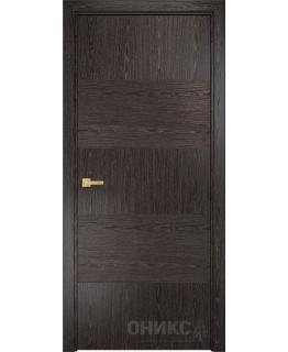 Дверь Оникс Авангард орех тангентальный, рисунок №1