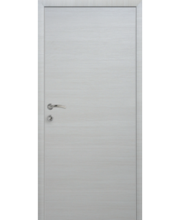 Дверь КАПЕЛЬ ЭКО Неаполь Дуб кремовый с алюминиевым торцом
